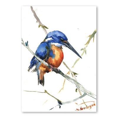 Americanflat Azure Kingfisher III by Suren Nersisyan Art Print