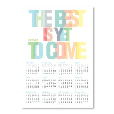 Americanflat Calendar The Best by Patricia Pino Typography