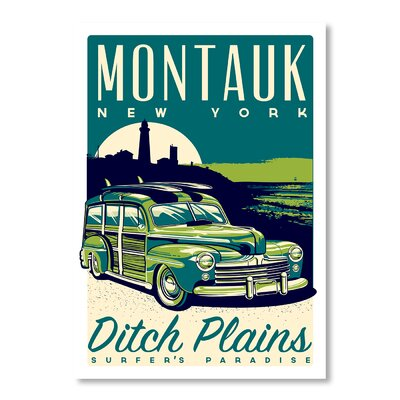 Americanflat Montauk Woody by Matthew Schnepf Vintage Advertisement