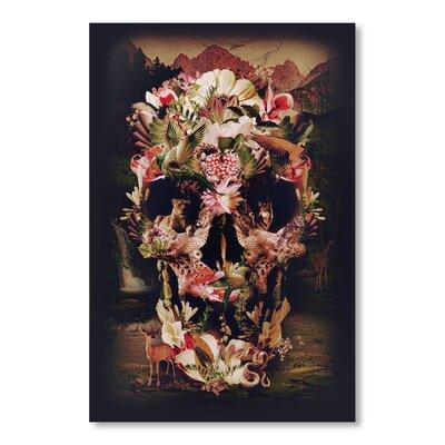 Americanflat Jungle Skull by Ali Gulec Graphic Art