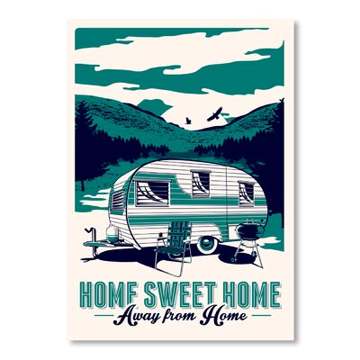 Americanflat Camp Home by Matthew Schnepf Graphic Art on Canvas