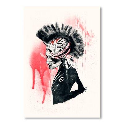 Americanflat Punk by Ali Gulec Graphic Art