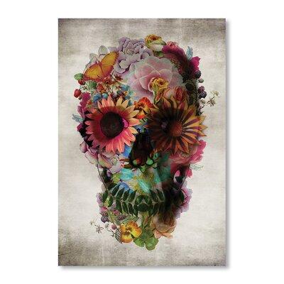 Americanflat Skull II by Ali Gulec Graphic Art