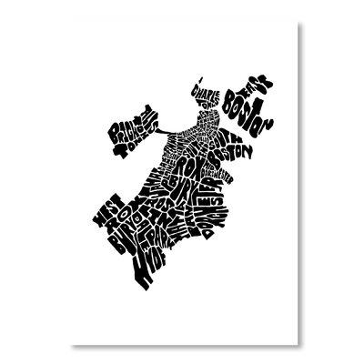 Americanflat Boston by Joe Brewton Typography in Black