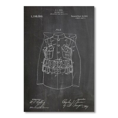 Americanflat Military Coat by House of Borders Graphic Art