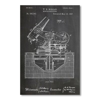 Americanflat Mortar Gun by House of Borders Graphic Art