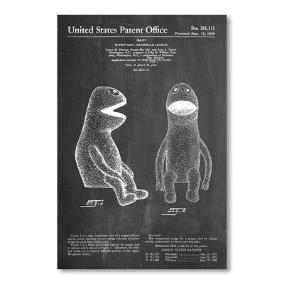 Americanflat Muppet II by House of Borders Graphic Art