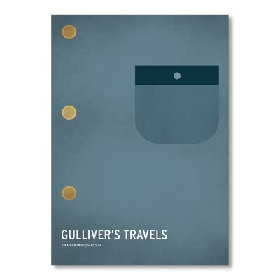 Americanflat Gulliver's Travels by Christian Jackson Graphic Art