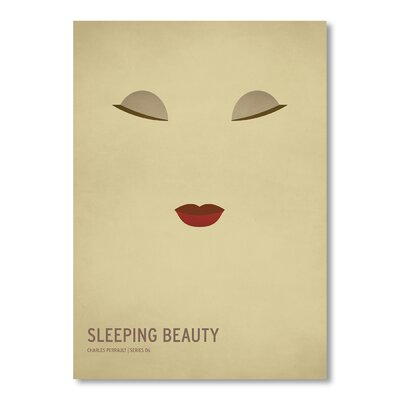 Americanflat Sleeping Beauty by Christian Jackson Graphic Art