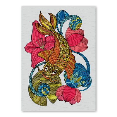 Americanflat Koi by Valentina Ramos Graphic Art Wrapped on Canvas