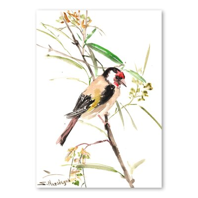 Americanflat Goldfinch Male by Suren Nersisyan Art Print