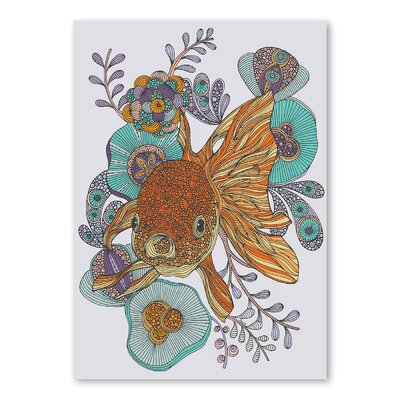Americanflat Little Fish by Valentina Ramos Graphic Art Wrapped on Canvas
