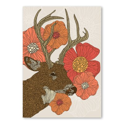 Americanflat My Dear Deer by Valentina Ramos Graphic Art Wrapped on Canvas