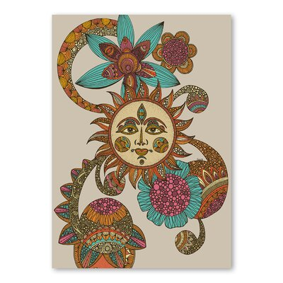 Americanflat My Sunshine by Valentina Ramos Graphic Art Wrapped on Canvas