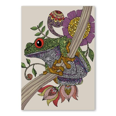 Americanflat Phileus Frog by Valentina Ramos Graphic Art