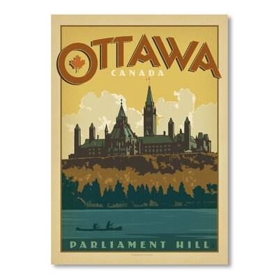 Americanflat Ottawa by Anderson Design Group Vintage Advertisement