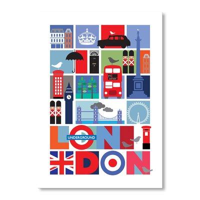 Americanflat London by Liz Lyons Graphic Art