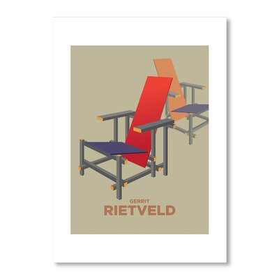 Americanflat Rietveld Graphic Art on Canvas