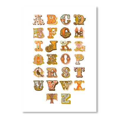 Americanflat Alphabet by Jeanie Nelson Typography