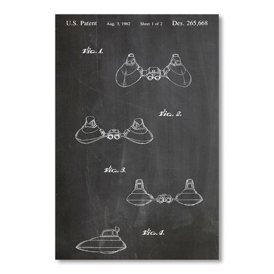 Americanflat Star Wars Cloud Car by House of Borders Graphic Art in Grey