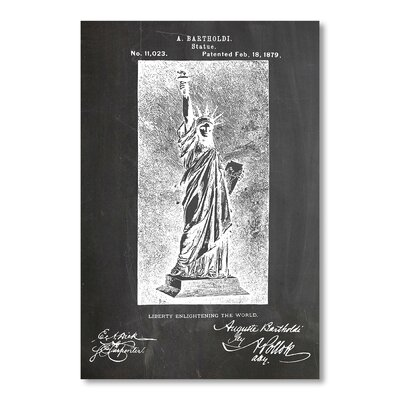 Americanflat Statue of Liberty by House of Borders Graphic Art