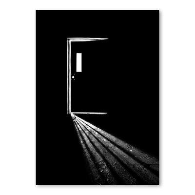 Americanflat Door by Lina Kremsdorf Photographic Print in Black