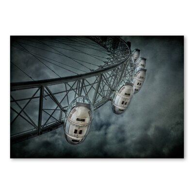 Americanflat London Eye by Lina Kremsdorf Photographic Print in Grey