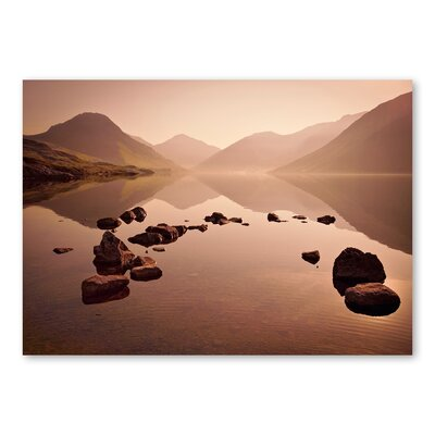 Americanflat Lake 2 by Lina Kremsdorf Photographic Print in Brown