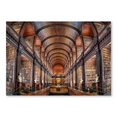 Americanflat Library by Lina Kremsdorf Photographic Print