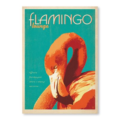 Americanflat Flamingo Lounge by Anderson Design Group Vintage Advertisement