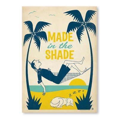Americanflat Made In the Shade Vintage Advertisement Wrapped on Canvas
