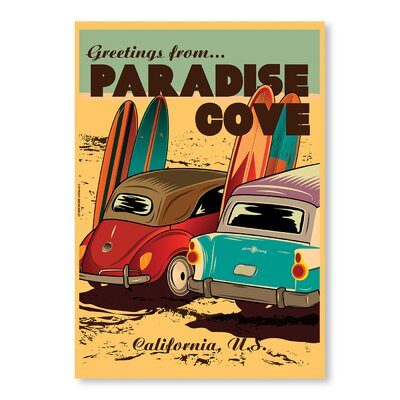 Americanflat Paradise Cove by Diego Patino Vintage Advertisement