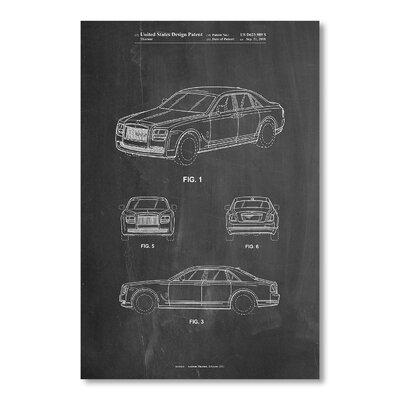 Americanflat Bentley Phantom by House of Borders Graphic Art in Grey