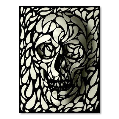 Americanflat Skull IV by Ali Gulec Graphic Art