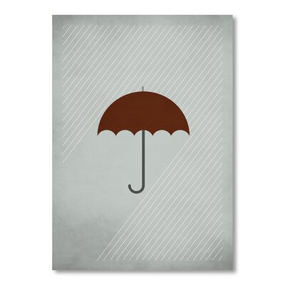 Americanflat Mary Poppins by Christian Jackson Graphic Art in Grey