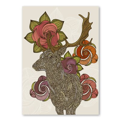 Americanflat Dear Deer II by Valentina Ramos Graphic Art