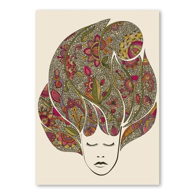 Americanflat Dreaming Flowers by Valentina Ramos Graphic Art