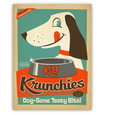 Americanflat Krunchies by Anderson Design Group Vintage Advertisement