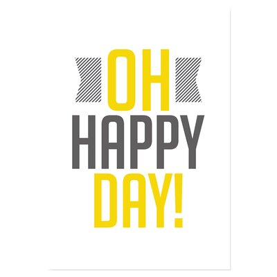 Americanflat Oh Happy by Patricia Pino Typography