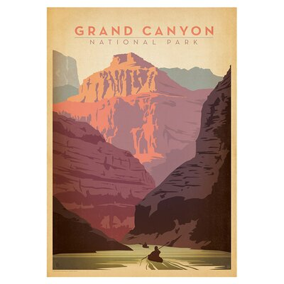 Americanflat Grand Canyon National Park by Anderson Design Group Vintage Advertisement