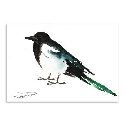 Americanflat Magpie 2 by Suren Nersisyan Art Print