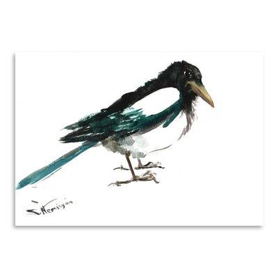 Americanflat Magpie by Suren Nersisyan Art Print