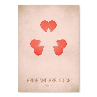 Americanflat Pride and Prejudice Graphic Art