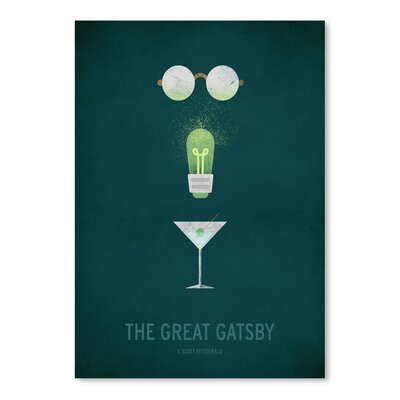 Americanflat The Great Gatsby Minimal Graphic Art