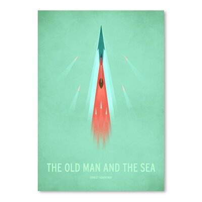 Americanflat The Old Man and The Sea Graphic Art