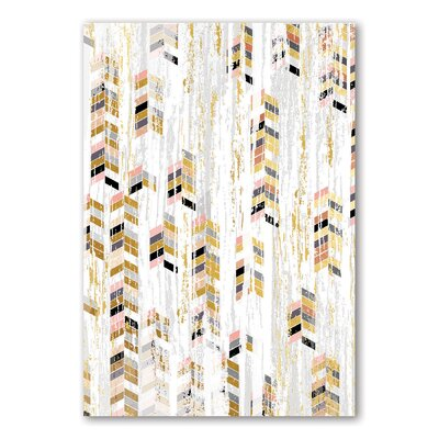 Americanflat Chesapeake Graphic Art Wrapped on Canvas