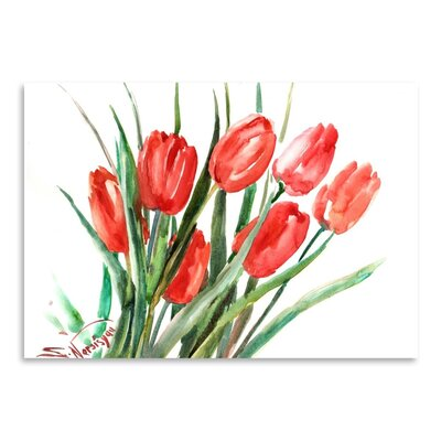 Americanflat Tulips Art Print