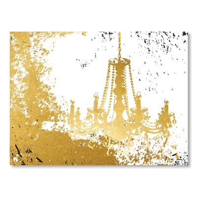 Americanflat Chambre D'or Graphic Art Wrapped on Canvas