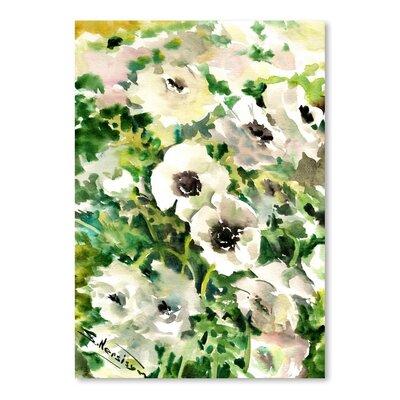 Americanflat White Buttercups Art Print
