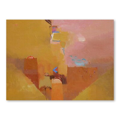 Americanflat The Mud of Ait-Arbi Art Print Wrapped on Canvas